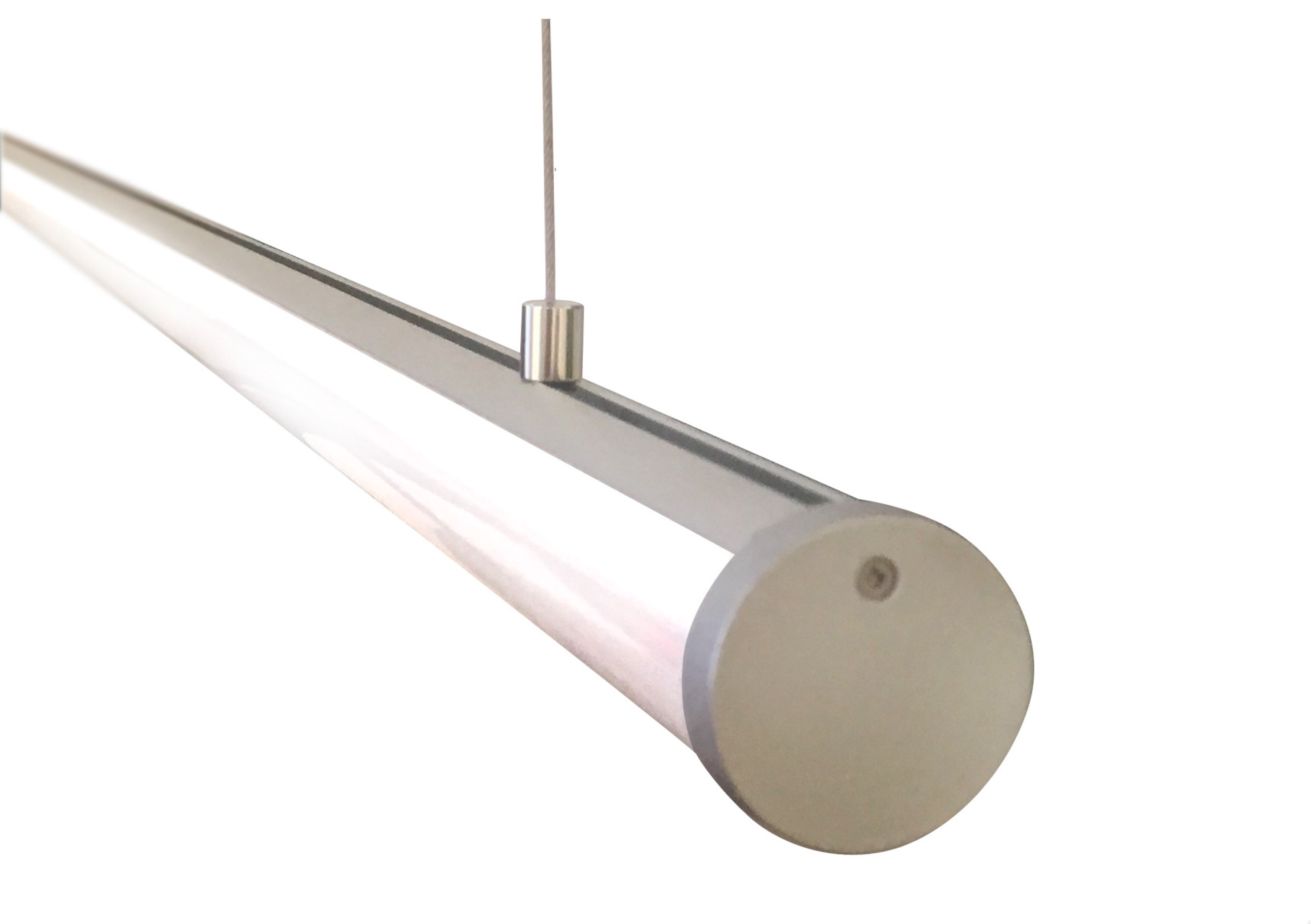 Suspended or Surface Mounted LED ...  sc 1 st  Lumicrest & Suspended or Surface Mounted LED Tube Light (1.2 inch or 2.4 inch ... azcodes.com