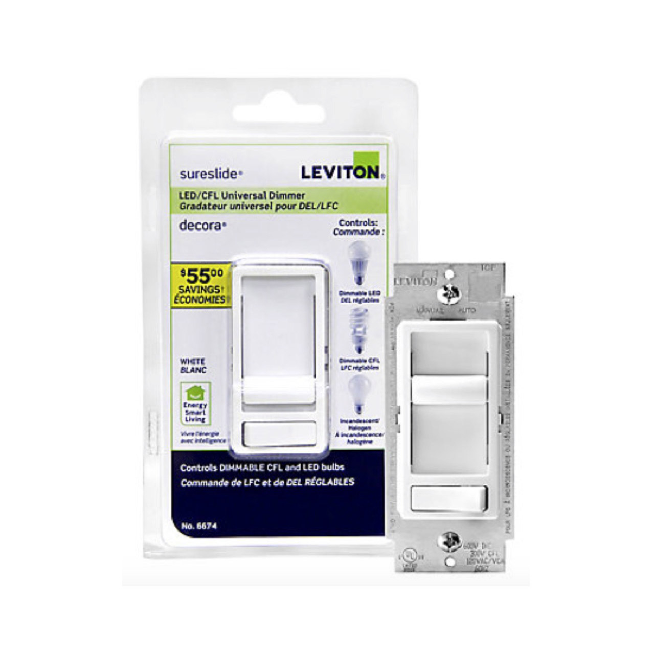 Leviton Sureslide