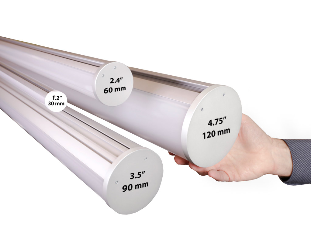LED Tube Profile Dimensions