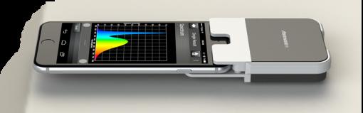 Lighting Passport and smartphone side view