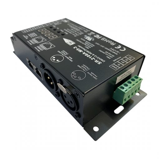 DMX:RDM Decoder - 5 channel
