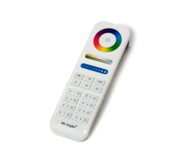 8 Zone Remote for RGBWW LED Strip