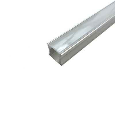 Deep LED Surface-Mount Channel with Smooth Sides