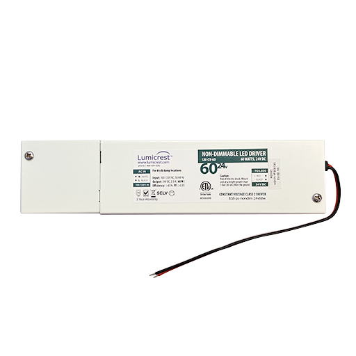 60 watt non-dimmable driver for LED Strip