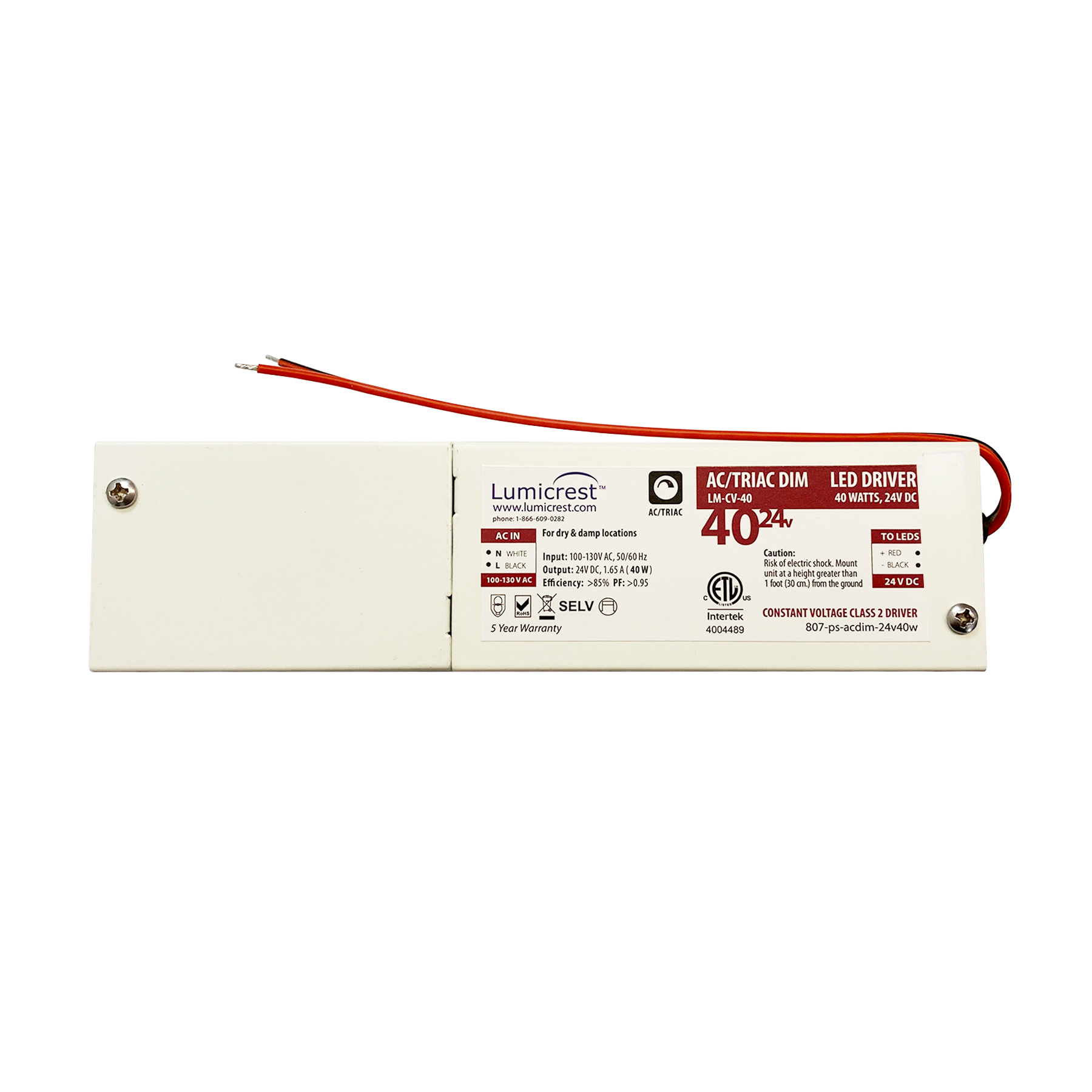 24V AC Dimmable