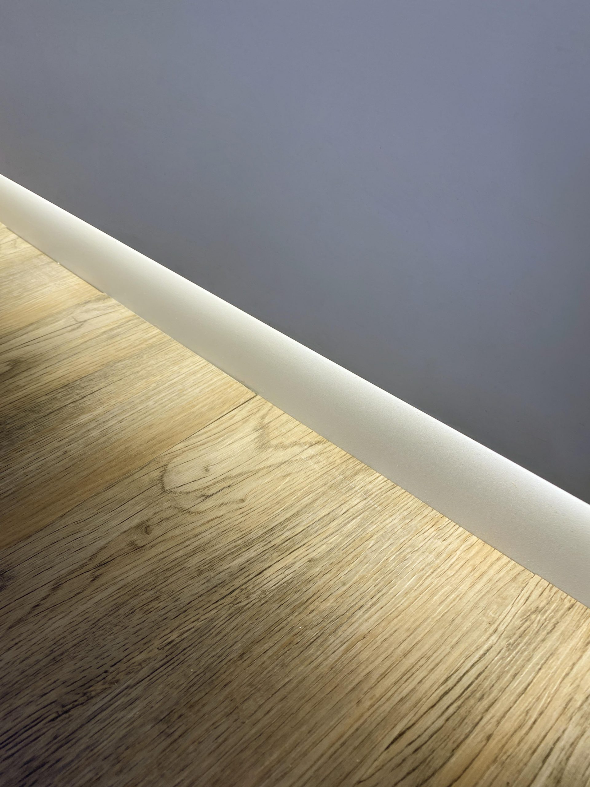 Baseboard channel for LED Strip